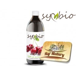 Wiśnia Sok 100% 0,5L Symbio