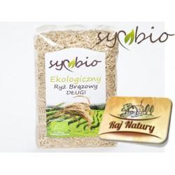 Ryż brązowy długi 500g Symbio